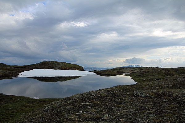 Einer der Lureggane-Seen