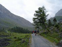 Aufstieg nach Schwarenbach