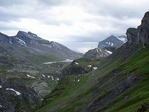 Blick Richtung Daubensee und Gemmipass
