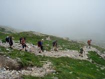 Abstieg nach Macugnaga