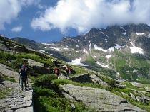 Saumpfad zum Colle del Turlo