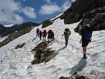 Aufstieg zum Colle del Turlo