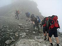Aufstieg zum Refugio Theodule