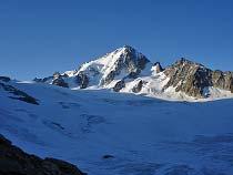 Glacier du Tour mit dem Aiguille du Chardonnet
