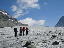 Auf dem Glacier d'Otemma