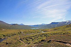 Blick zurück zum Darreluoppal-See