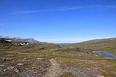 Am Råtokjåkkå entlang