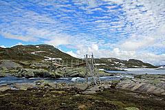 Sommerbrücke über die Borda