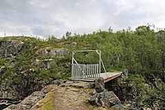 Brücke über den Bjoreio
