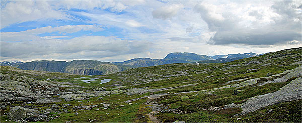 Kleine Seen des Helvtaråna