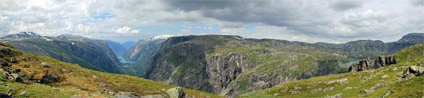 Panorama vom Storhaugen