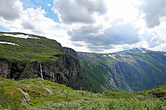 Steilwand des Simadalen