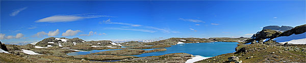 Am See 1348 westlich des Nutavatnet