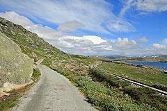 Rallarvegen am Finsevatnet