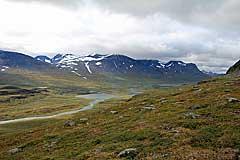 Alisvággi mit Kåtotjåkka-Massiv