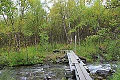 Brücke über den Boazojohka