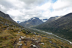 Abstieg ins Visdalen