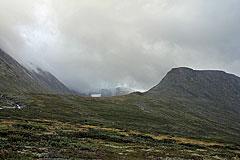 Hellstuguhøe und Hellstugu-Tal mit dem Store Memurutinden