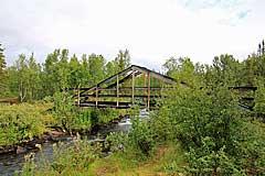 Brücke über den Njáhkájåhkå