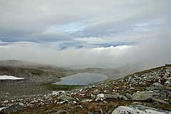 See am Loametjåhkkå auf 1240m