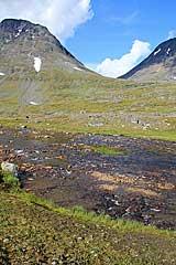 Furt durch den Sarvesjåkkå