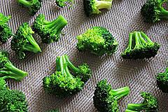 Broccoli vor dem Dörren